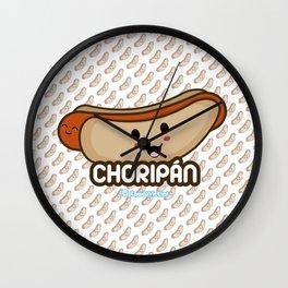 Choripán Wall Clock