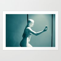 apple Art Prints featuring Apple by Sébastien BOUVIER