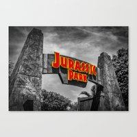 jurassic park Canvas Prints featuring Jurassic Park by Mark A. Hyland (MAHPhoto)