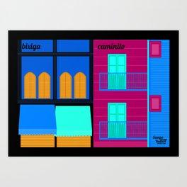 Bixiga x Caminito Art Print