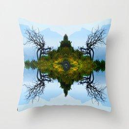 Bay Tree Throw Pillow