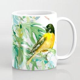 Baltimore Oriole Birds and White Oak Coffee Mug