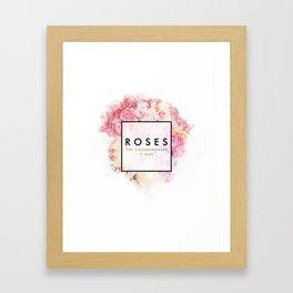 The Chainsmokers - Roses Framed Art Print