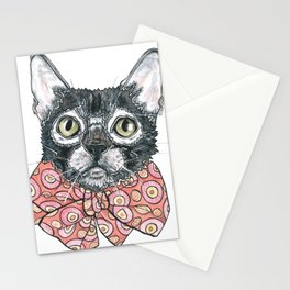 Lexi the Lykoi Cat Stationery Cards