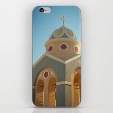 Greek island chapel iPhone & iPod Skin