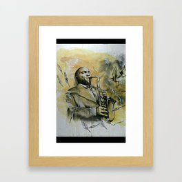 Classic Material Series - Feathers (c.2006) Framed Art Print
