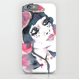 Decora Girl iPhone Case