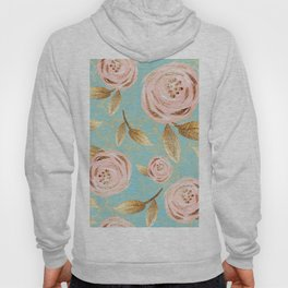 Roses Gold Pattern 04 Hoody