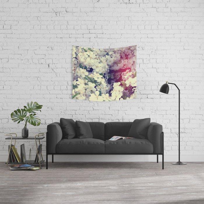 Secret Garden | Cherry blossom Wall Tapestry