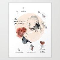 Spreading Ideas Art Print