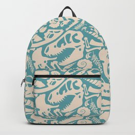 Fossil Pattern Backpack