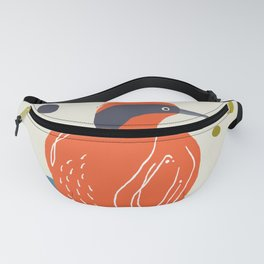 Quirky Helmeted Honeyeater Fanny Pack
