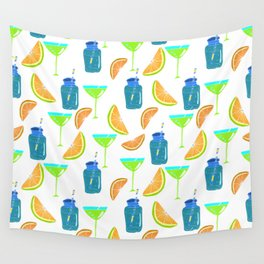 Cocktail party! Seamless pattern. Wall Tapestry