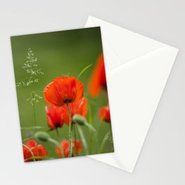 Peony Fire Stationery Cards