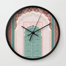 Jodhpur Arch Way Wall Clock