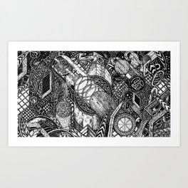 Night Vision (Still Frame 2) Art Print