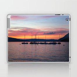 Sunset Lake Annecy Laptop & iPad Skin