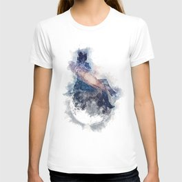 Chillin` on the Moon T-shirt