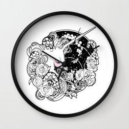 Unicorn Garden Wall Clock