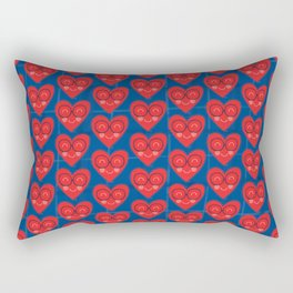 Handsome Heart Rectangular Pillow