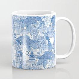 chinoiserie toile blue Coffee Mug