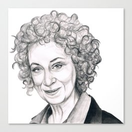 Margaret Atwood Canvas Print