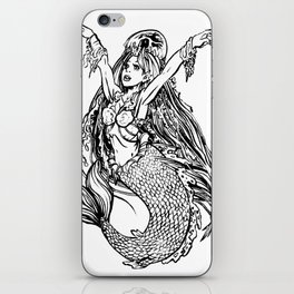 I HAVE A JELLYFISH HAT iPhone Skin