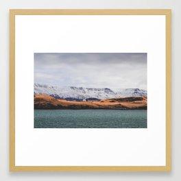 Mt. Esja Framed Art Print