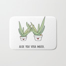 Aloe You Very Much Bath Mat