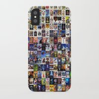 movie poster iPhone & iPod Cases featuring Movie Poster by NORI