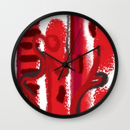 Red Session 1 Wall Clock
