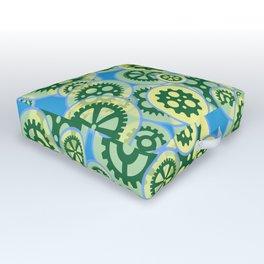 Gearwheels Outdoor Floor Cushion