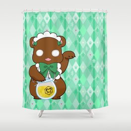 Lily Bear Lulu Shower Curtain