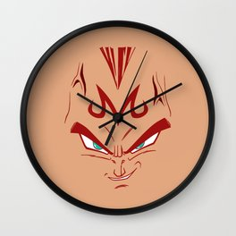 Vegeta majin face Wall Clock