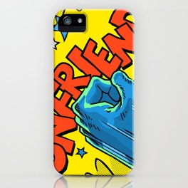 Comic Hands - Unfriend iPhone Case