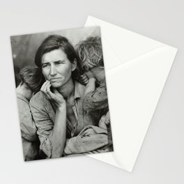 Migrant Mother (National Geographic) Stationery Cards