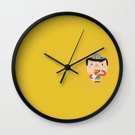 Ice Cream Please (Yellow Tales Series) Wall Clock