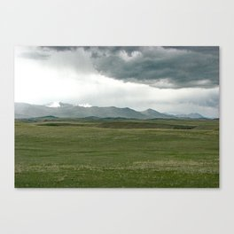 Rocky Mountain Front Canvas Print
