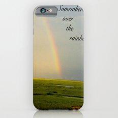 Somewhere Over the Rainbow iPhone 6s Slim Case