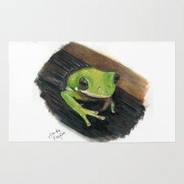 Peekaboo Tree Frog Rug