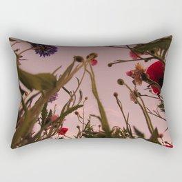 Wildflower Sunsets #4 Rectangular Pillow