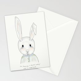 penny rabbit Stationery Cards