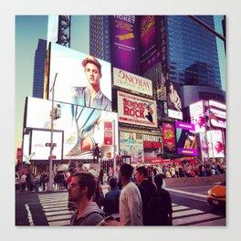 New York: Times Sqaure Canvas Print