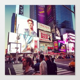 New York: Times Sqaure Canvas Print