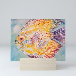Beautiful Sea Fish Mini Art Print