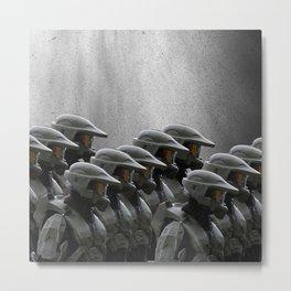 The Halo Army Metal Print