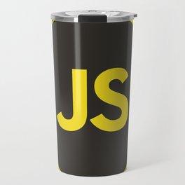 javascript js Travel Mug