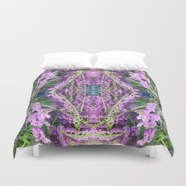 302 - Abstract Lilac Design Duvet Cover