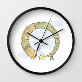 Finding yourself Wall Clock