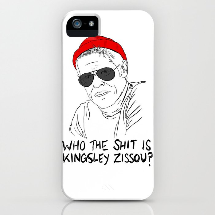 The Life Aquatic - Klaus iPhone Case